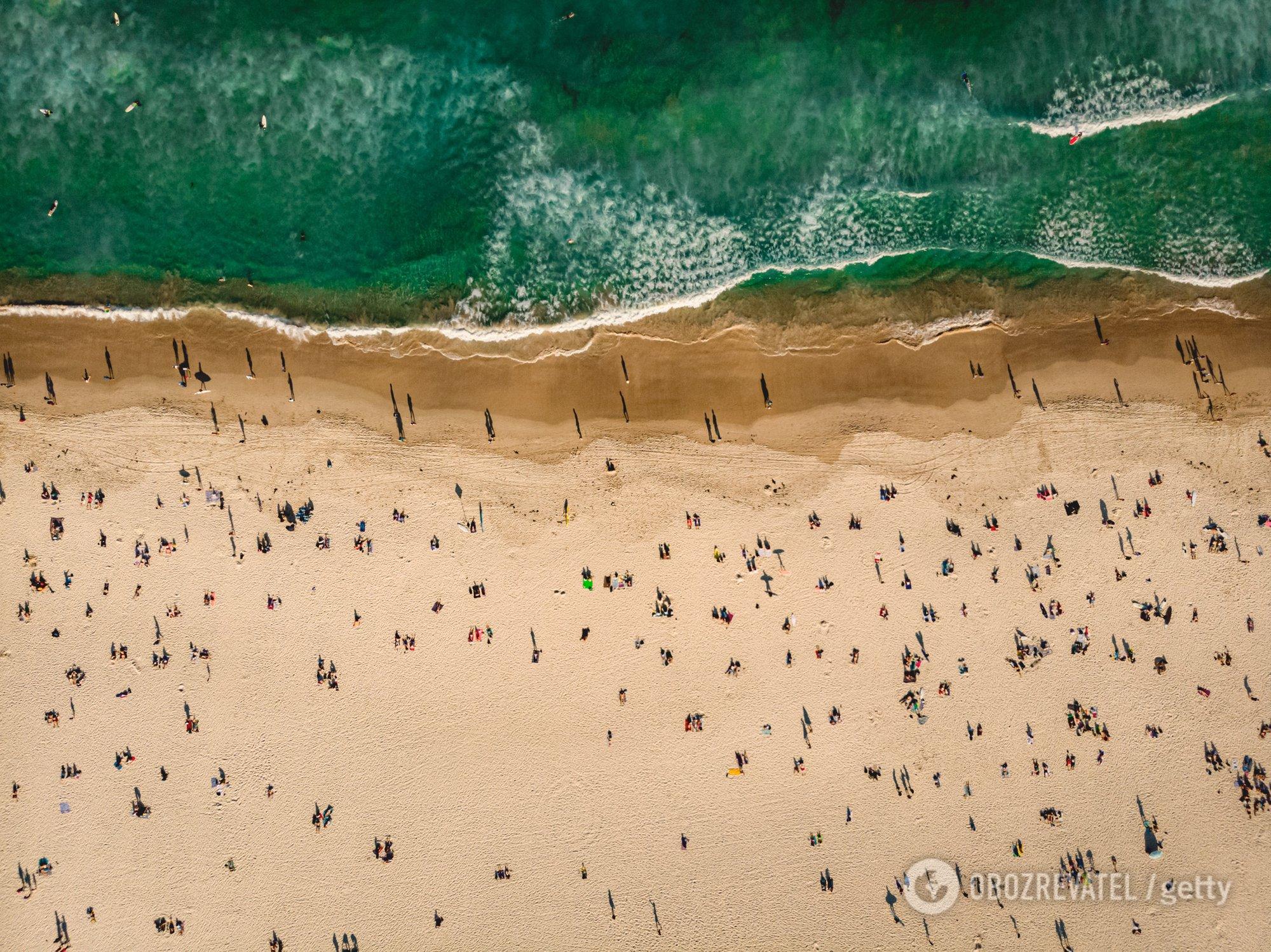 Пляжі стають розсадником коронавірусу